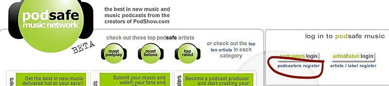Podsafe music network